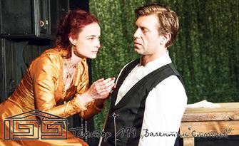 """Гледайте Йоана Буковска и Калин Врачански в """"Госпожица Юлия"""" - на 6 Октомври, в Театър 199"""