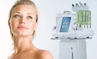 Цялостна терапия за лице с апарат ProFacial - вакуумно почистване, водно дермабразио, ултразвук и маска, от Естетичен център Теорея