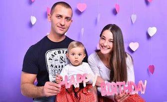 Детска фотосесия за рожден ден с 20 обработени кадъра, от MVP Studio