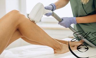 Безболезнена лазерна епилация за жени на зона по избор, с ново поколение апаратура - 1 или 7 процедури, от Silk Skin Beauty Center