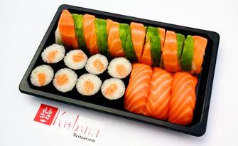 Суши от Ресторант Кабуки! Сет с 19, 35 или 56 хапки