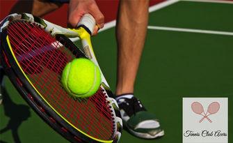 1 индивидуален урок или 5 групови тренировки по тенис на корт с треньор - за дете над 10г или възрастен, от Тенис клуб Acers