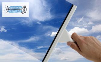 Двустранно почистване на прозорци в дом или офис до 100кв.м, от Universe Clean BG
