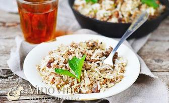 Ризото по избор - с пилешко месо или вегетарианско, от Бистро VinoVino