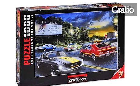 Пъзел Аnatolian Рuzzle с 1000 или 1500 части - модел по избор