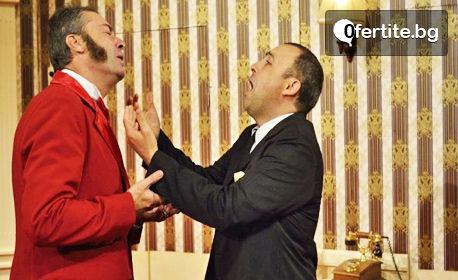 """Руслан Мъйнов и Анелия Луцинова в комедията """"Стая 1313"""" - на 2 Ноември"""