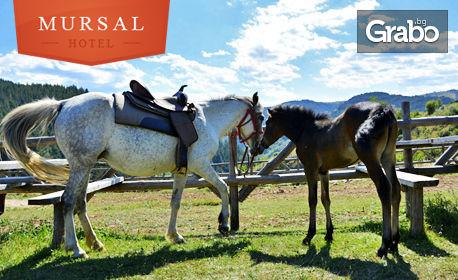 Есенен релакс за двама в Западните Родопи! 2 или 3 нощувки със закуски, разходка с джип и конна езда