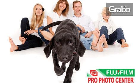 Професионална фотосесия в рамките на 30 или 60 минути