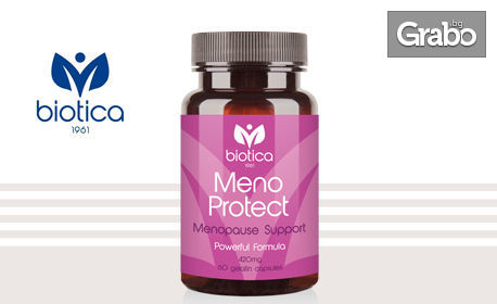 Натурален продукт Meno Protect за комфорт по време и след менопаузата
