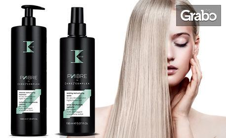 Иновативна терапия за увредена и често третирана коса Phibre на K-Time Italy