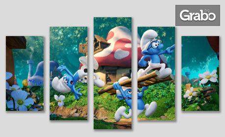 Декоративна картина от 1, 3 или 5 части, със снимка на клиента или дизайн по избор