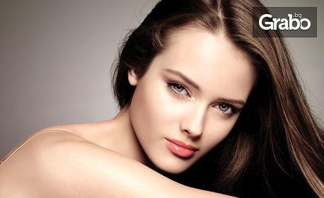 Дълбоко почистване и възобновяване на кожата с аква пилинг на лице в 9 стъпки