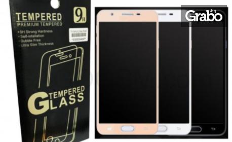 За всеки модел смартфон! Стъклен протектор 9H за дисплея на GSM, от закалено стъкло Tempered Glass с най-високо качество