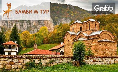 Еднодневна екскурзия до Пирот и Суковски манастир на 20 Май