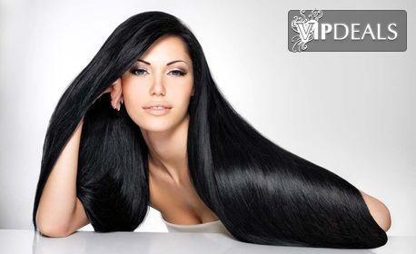 Красива и свежа коса! Измиване, маска, подстригване и оформяне на прическа със сешоар