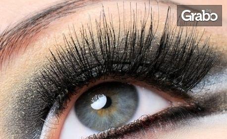 """Миглопластика по метода """"косъм по косъм"""" или ламиниране, боядисване и подхранване на мигли"""