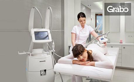 Aнтицелулитна процедура с LPG - на лице, шия и деколте или на проблемни зони от тялото и до 2 процедури кавитация