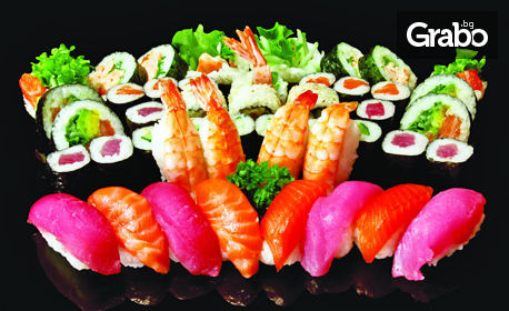 Суши сет с 38, 56 или 84 хапки
