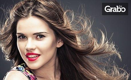 Грижа против косопад и прекомерно омазняване на косата! 4 процедури с дарсонвал, маска и ампула