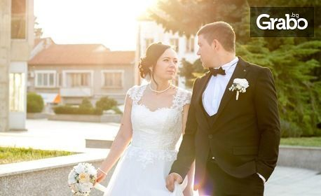 Сватбена фотосесия с 20 обработени кадъра - на адрес на клиента