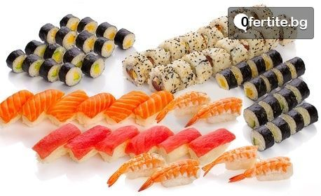 Суши сет за вкъщи - с 20, 40 или 66 хапки