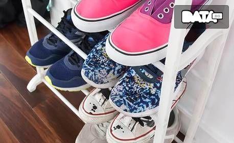 Етажерка за обувки с 10 етажа
