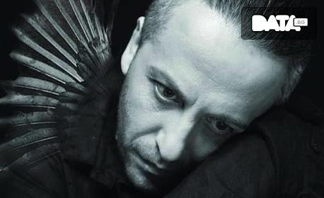 """Моноспектакълът на Мариус Куркински """"Черното пиле"""" на 10 Септември"""