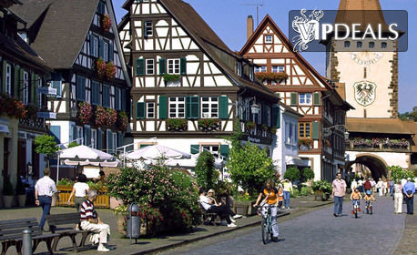 Есенна екскурзия до Баден-Баден! 3 нощувки със закуски, плюс самолетен транспорт