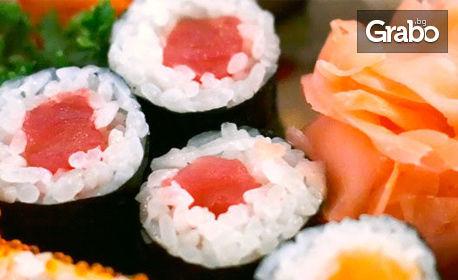 Суши сет за вкъщи с 10, 12 или 17 хапки
