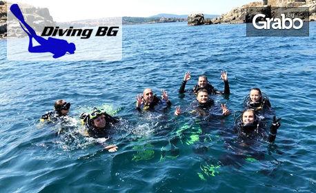 Виж подводния свят на Созопол! Гмуркане от скоростна лодка, плюс пълна екипировка, инструктаж и видеозаснемане