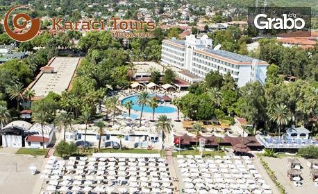 Last minute екскурзия до Анталия! 7 нощувки All Inclusive в Larissa Phaselis Princess Hotel 5*, плюс самолетен транспорт от Варна