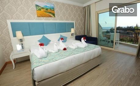 Релакс в Анталия! 7 нощувки на база Ultra All Inclusive в Хотел Heaven Beach Resort*****, край Сиде