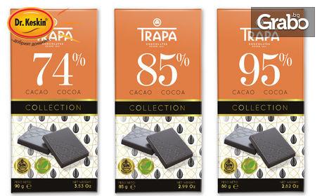 3 веган шоколада Trapa