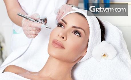 Почистване на лице с ултразвук, плюс хидратираща терапия с кокос и алое