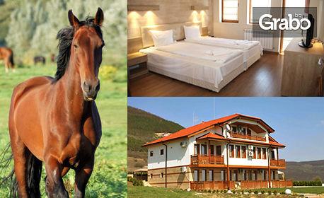 Септември край Севлиево! 2, 5 или 7 нощувки със закуски и вечери, плюс 30 минути конна езда