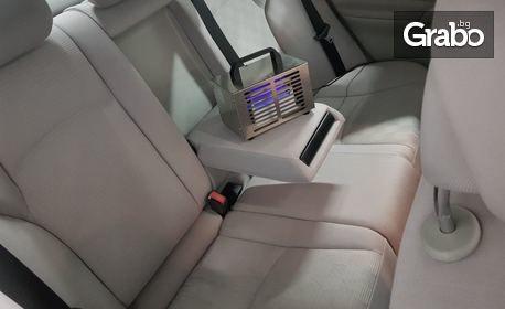 Дезинфекция на автомобил с озонатор