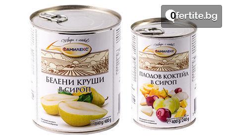 """Комплект хранителни продукти """"Фамилекс Закуска"""""""
