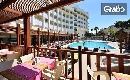 Почивка край Сиде! 7 нощувки на база All Inclusive в Side Alegria Hotel & SPA*****