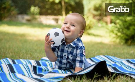 Лятна детска, семейна или индивидуална фотосесия на открито