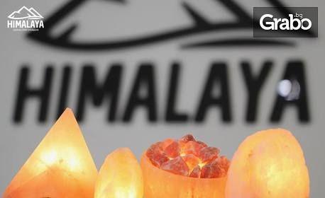 Свещник или лампа от хималайска сол
