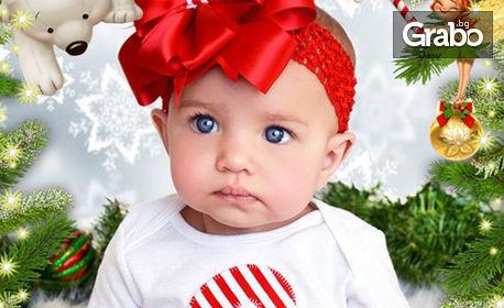Коледни картички или календарчета със снимка на клиента - 2, 5 или 10 броя