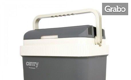 Термо кутия Camry CR 8065 с двойно захранване - охлаждане и затопляне, плюс безплатна доставка