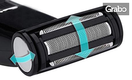 Безжична водоустойчива машинка Zephyr 2 в 1 - за подстригване и бръснене