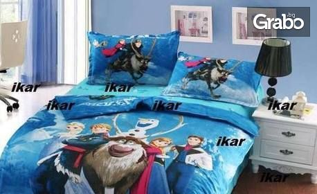 Детски спален комплект от 100% памук, в десен по избор