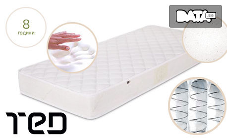 Двулицев матрак Мy Cashmere Roll - в размер по избор, плюс безплатна доставка