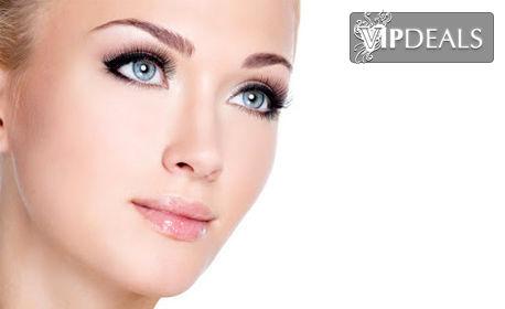 Дълбоко почистване на лице с ултразвук, билков пилинг и маска, без или със микродермабразио