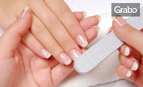 Възстановяваща процедура за нокти IBX, плюс лакиране с гел лак