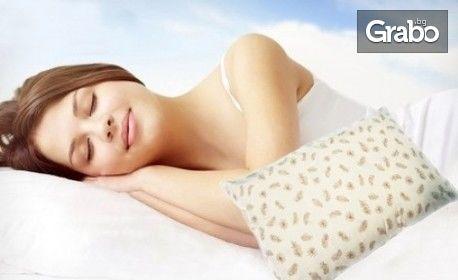Възглавница от 50% гъши пух и 50% фини гъши перца