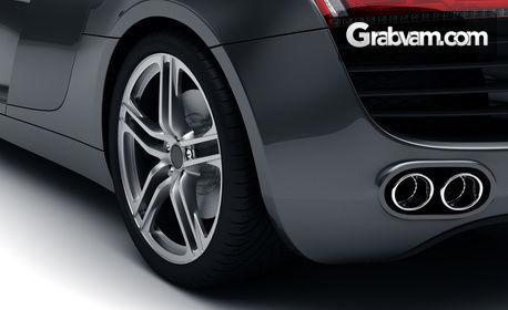 Смяна на две гуми на лек автомобил, плюс баланс