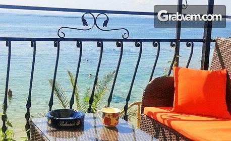 Късно лято край Несебър! 2, 3 или 5 нощувки със закуски и вечери - на самия морски бряг